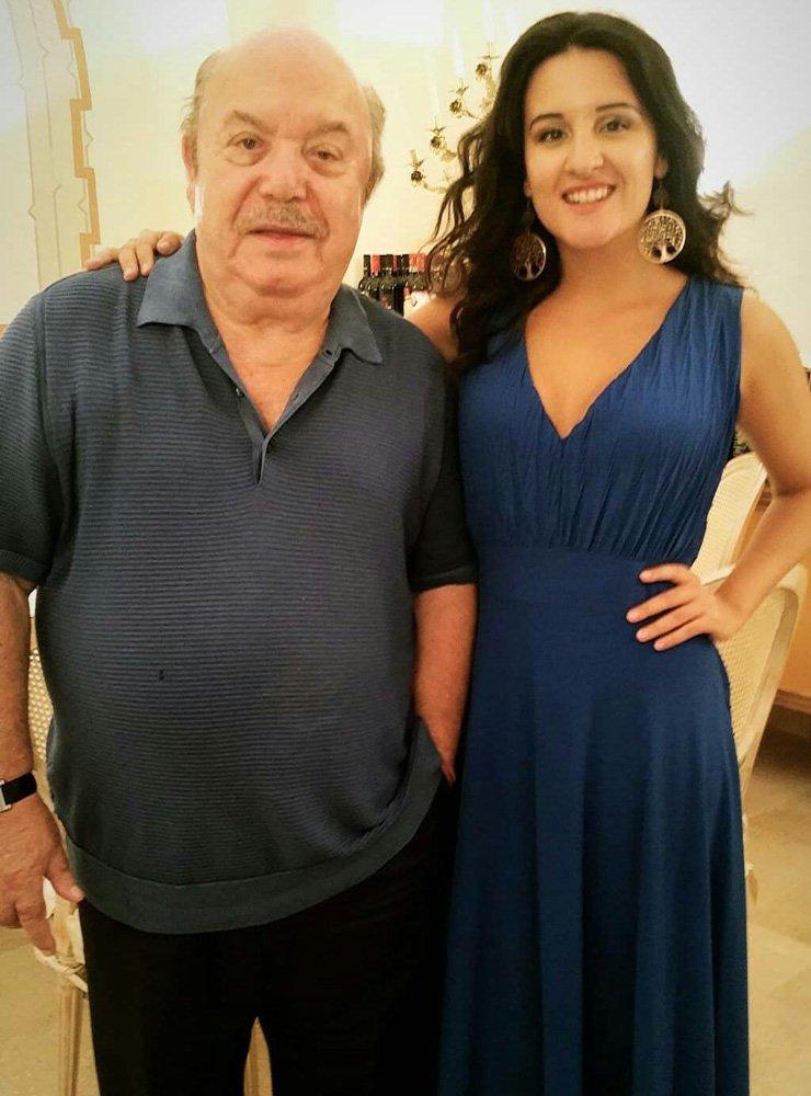 Lino Banfi e Claudia Catalli