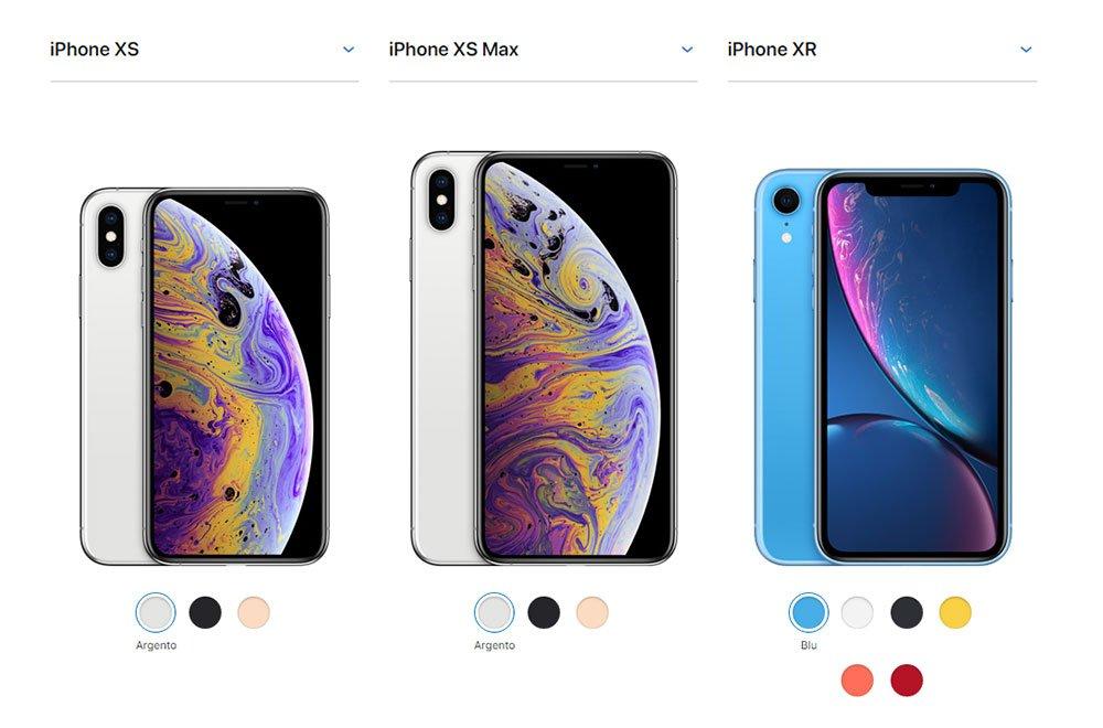 I nuovi iPhone: caratteristiche, foto e prezzi 7 I nuovi iPhone: caratteristiche, foto e prezzi