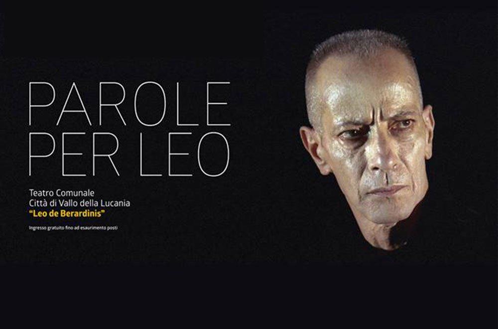 Parole per Leo, a Vallo della Lucania 16 Parole per Leo, a Vallo della Lucania