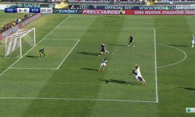 Fiorentina - Atalanta: Luca Percassi sul rigore assegnato ai viola 6 Fiorentina - Atalanta: Luca Percassi sul rigore assegnato ai viola