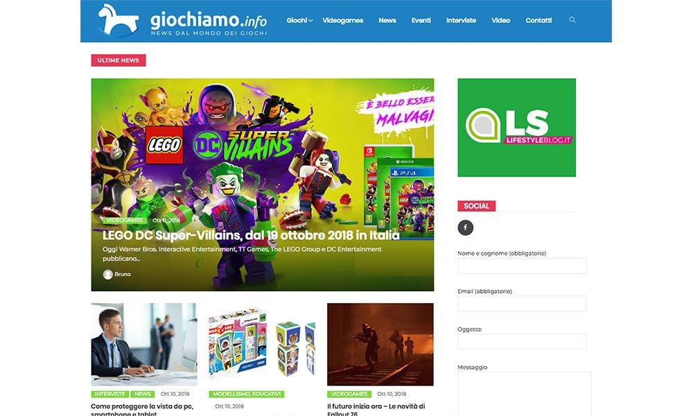 Giochiamo.info, il sito dedicato al mondo dei giochi 7 Giochiamo.info, il sito dedicato al mondo dei giochi