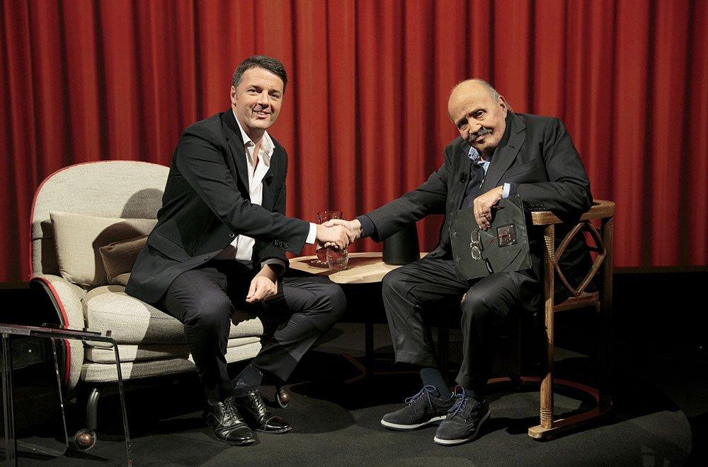 Matteo Renzi ospite da Maurizio Costanzo per L'Intervista 32 Matteo Renzi ospite da Maurizio Costanzo per L'Intervista