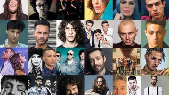 Sanremo 2019: i nomi dei cantanti in gara 70 Sanremo 2019: i nomi dei cantanti in gara