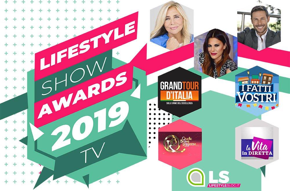 Lifestyle Show Awards 2019: i vincitori della categoria TV 9 Lifestyle Show Awards 2019: i vincitori della categoria TV
