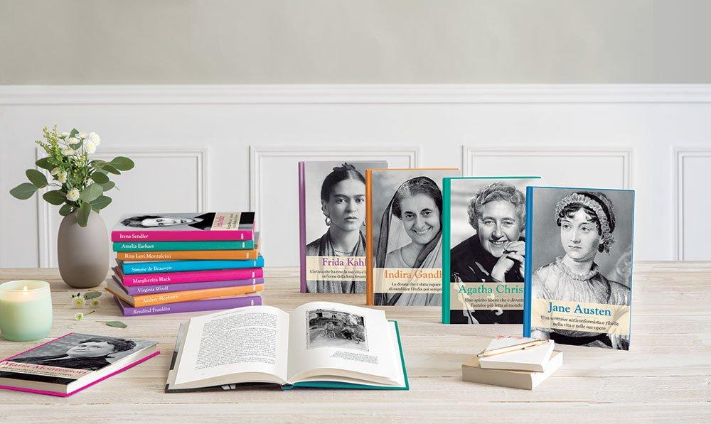 grandi donne libri - Tornano in edicola le Grandi Donne