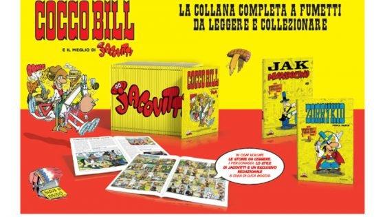 La collana di libri Cocco Bill e il meglio di Jacovitti arriva in edicola 10 La collana di libri Cocco Bill e il meglio di Jacovitti arriva in edicola