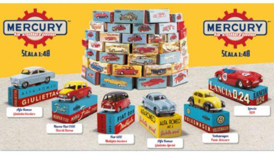 In edicola la collezione di automobiline MERCURY 8 In edicola la collezione di automobiline MERCURY