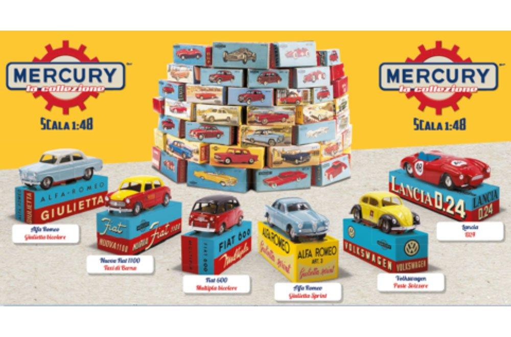 In edicola la collezione di automobiline MERCURY 14 In edicola la collezione di automobiline MERCURY