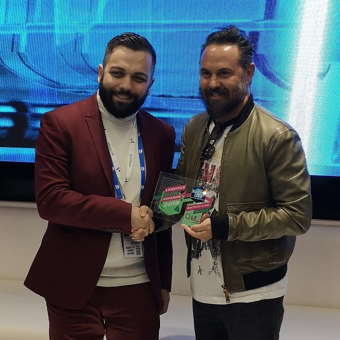 Lifestyle Show Awards 2019 - premio a Battiti Live 34 Lifestyle Show Awards 2019 - premio a Battiti Live