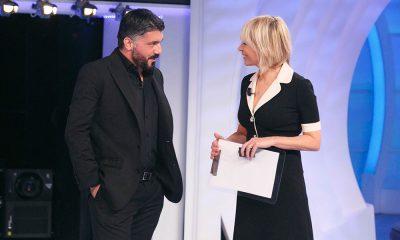 Maria De FIlippi e Gennaro Gattuso