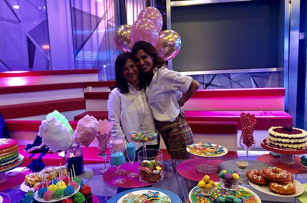 Roberta Morise festeggia il suo 33esimo compleanno con Polpetta 34 Roberta Morise festeggia il suo 33esimo compleanno con Polpetta