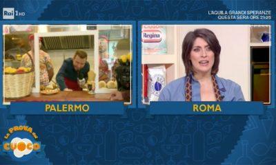 """La prova del cuoco: """"nuovo look"""" per Claudio Guerrini 40 La prova del cuoco: """"nuovo look"""" per Claudio Guerrini"""