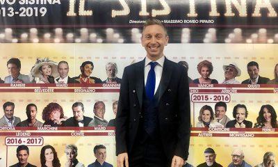 Musical Peter Pan: Gianluca Mech tra i vip al Sistina 13 Musical Peter Pan: Gianluca Mech tra i vip al Sistina