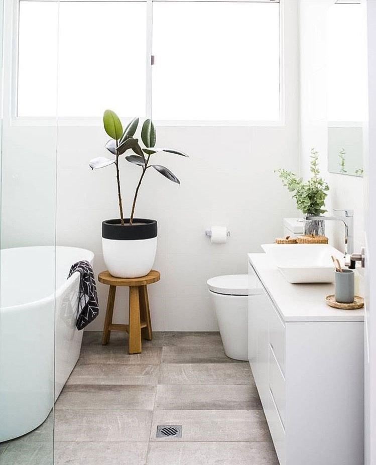 La natura in bagno