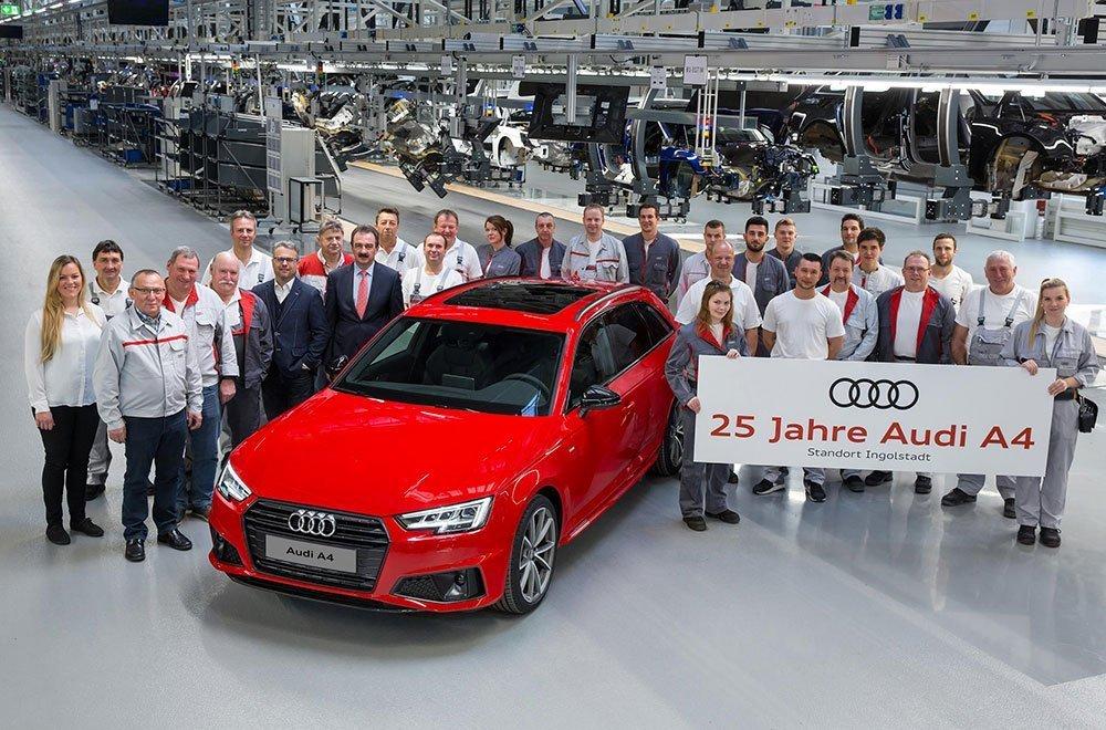 Audi A4 compie 25 anni