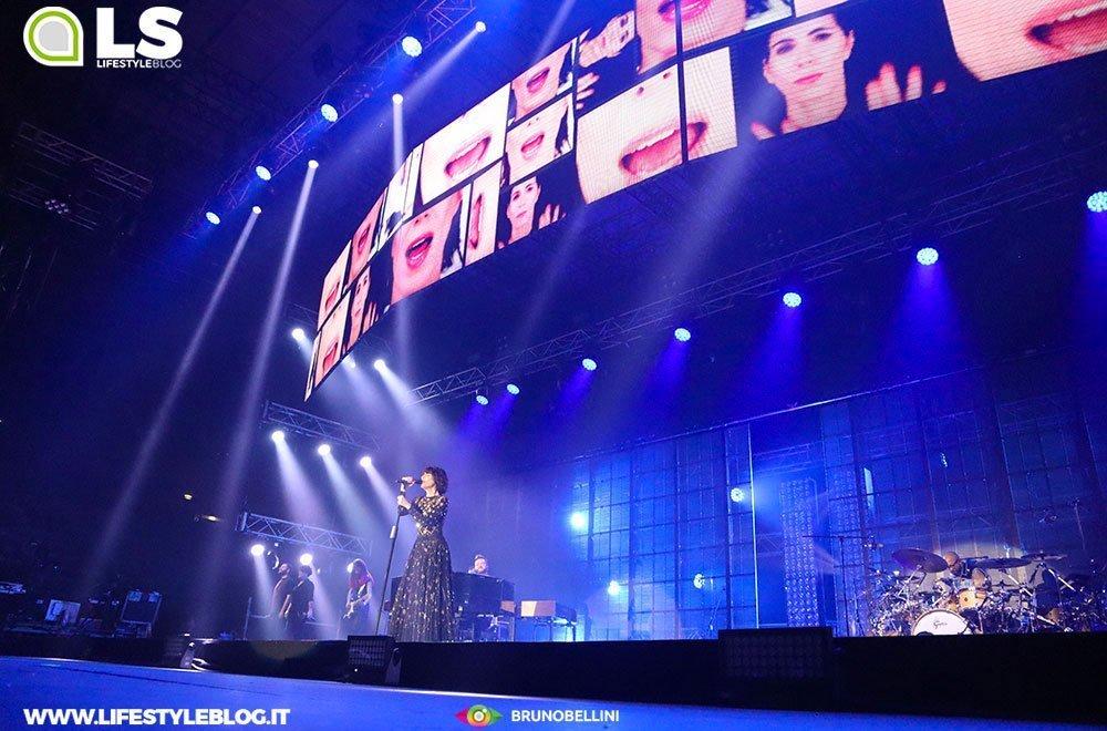 Giorgia: le foto del concerto di Bari. Pop Heart Tour 2019 36 Giorgia: le foto del concerto di Bari. Pop Heart Tour 2019