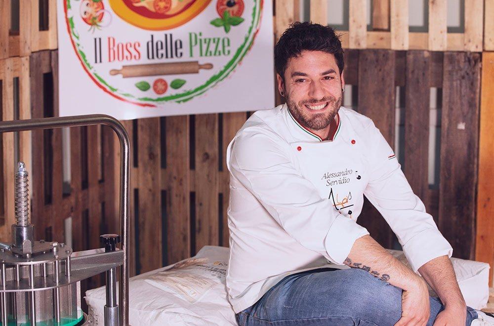 Alessandro Servidio a Il Boss delle Pizze