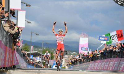 Doppietta italiana al Giro D'Italia: Masnada vince, Conti nuova Maglia Rosa 19 Doppietta italiana al Giro D'Italia: Masnada vince, Conti nuova Maglia Rosa