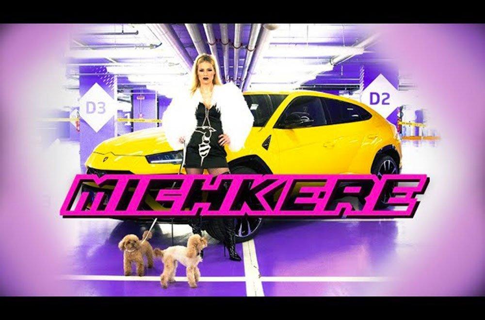 michkere michelle hunziker - Michelle Hunziker si dà alla trap: ecco Michkere, il nuovo singolo
