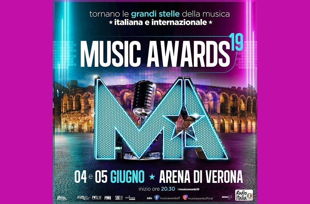 MUSIC AWARDS 2019 a Verona: quando si svolgono 14 MUSIC AWARDS 2019 a Verona: quando si svolgono