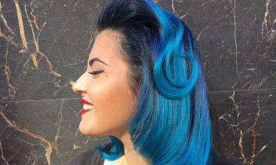 Il blu tra le tendenze capelli estate 2019 28 Il blu tra le tendenze capelli estate 2019