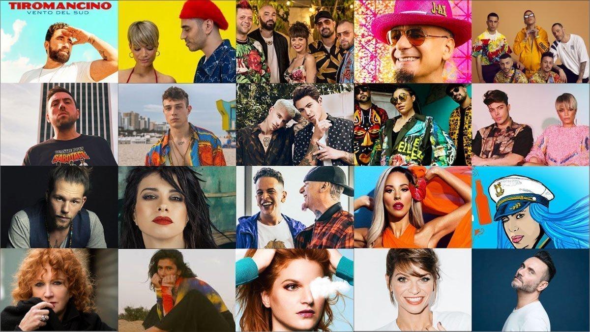 Le 20 canzoni italiane dell'estate 2019