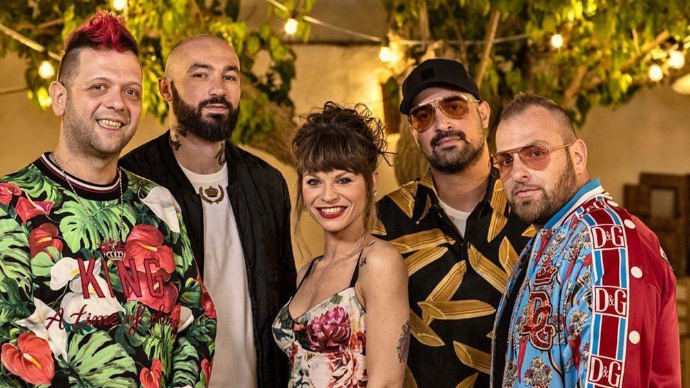 Boomdabash: Mambo Salentino è il brano più trasmesso dalle radio 5 Boomdabash: Mambo Salentino è il brano più trasmesso dalle radio