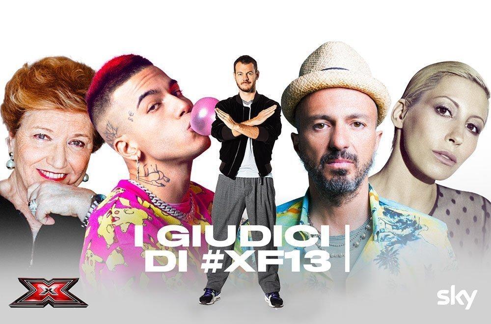 I giudici di X Factor 2019