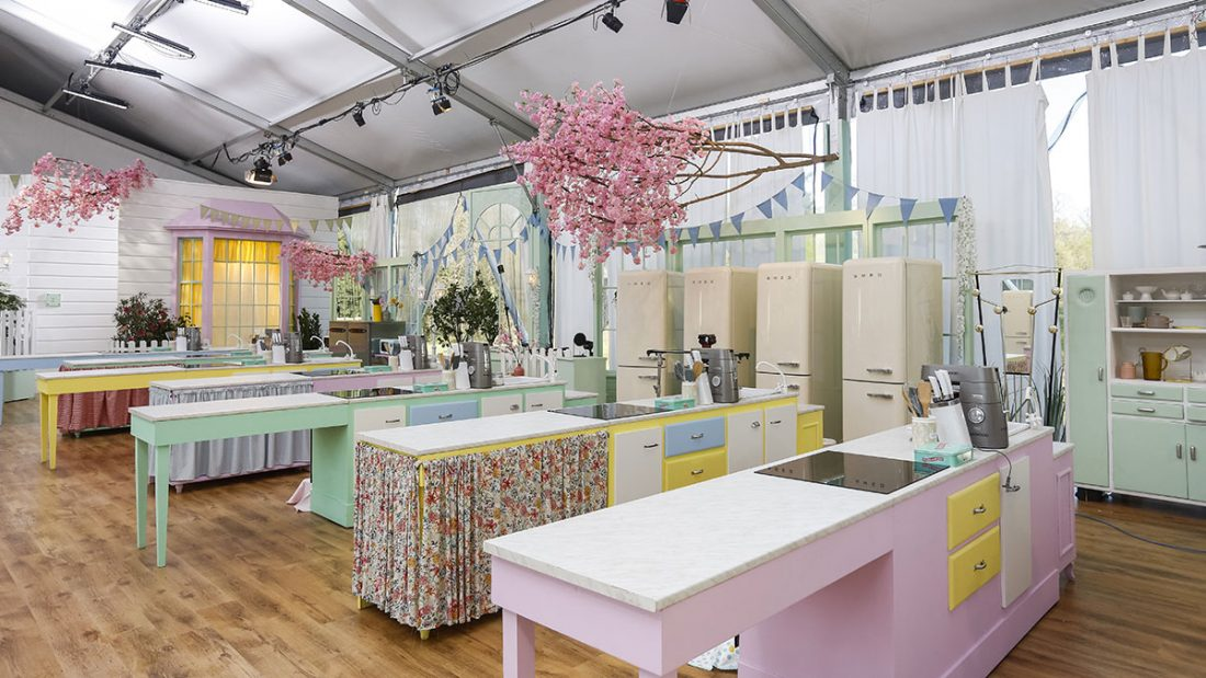 Il set di Bake Off Italia 2019