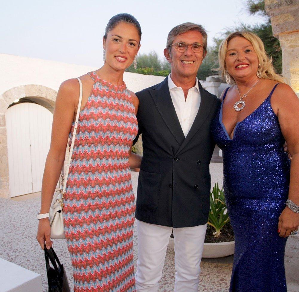 Monica Setta con Daniela Ferolla e Vincenzo Novari