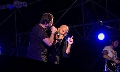 Tiromancino e Giuliano Sangiorgi incantano Lecce 56 Tiromancino e Giuliano Sangiorgi incantano Lecce