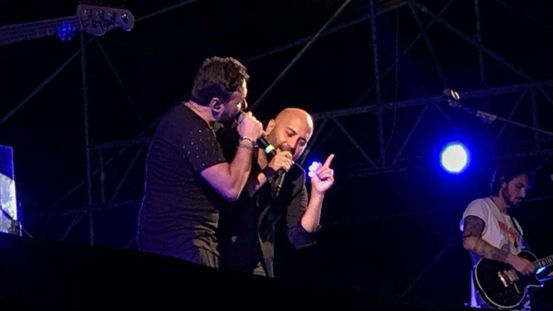 Tiromancino e Giuliano Sangiorgi incantano Lecce 34 Tiromancino e Giuliano Sangiorgi incantano Lecce