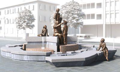 Fontana Monumentale contro le Mafie di piazza Mazzini a Borgosesia 7 Fontana Monumentale contro le Mafie di piazza Mazzini a Borgosesia