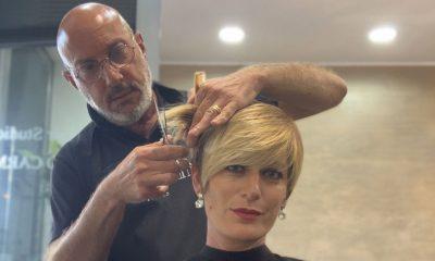 Short Bob: Roberto Carminati cura il look di Valentina Bisti