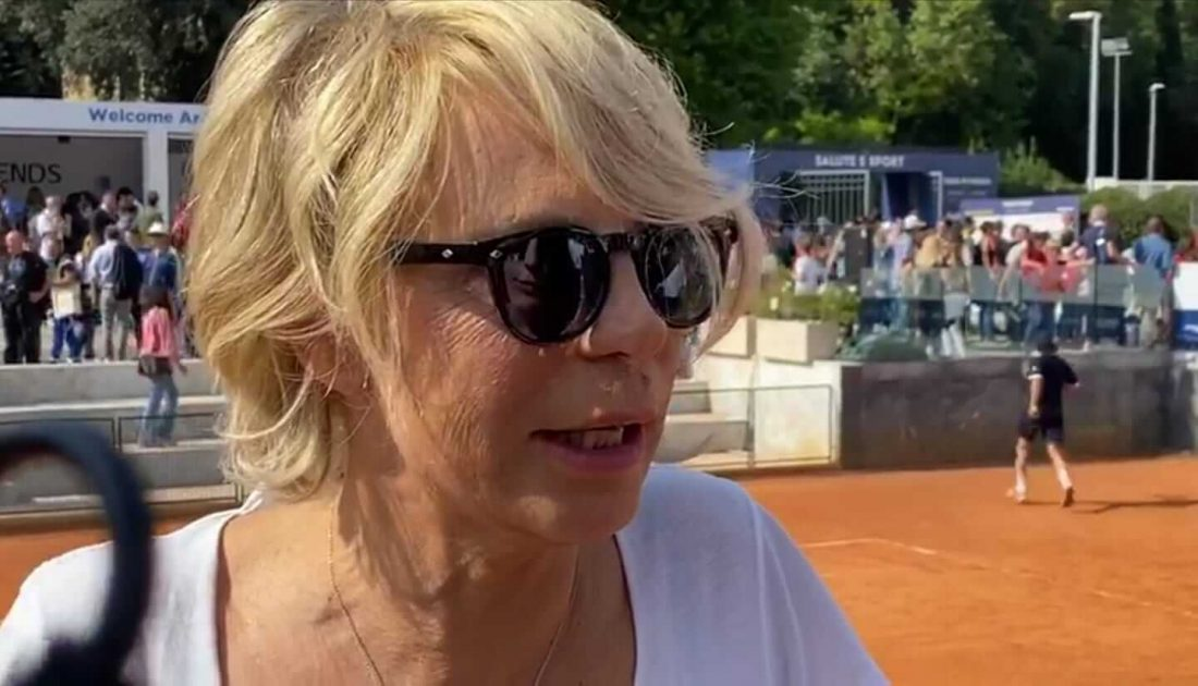Maria De Filippi al Tennis & Friends