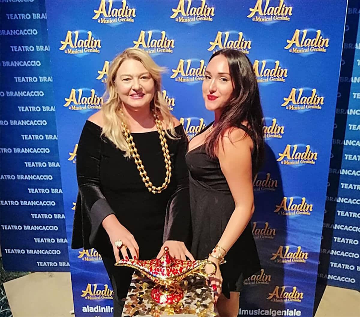 Aladin - Monica Setta e Gaia Torlontano