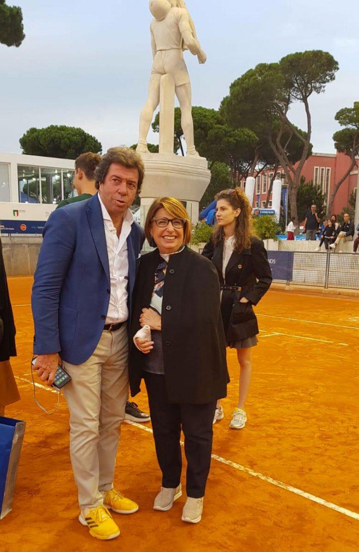Maria Bianca Farina e Giorgio Meneschincheri