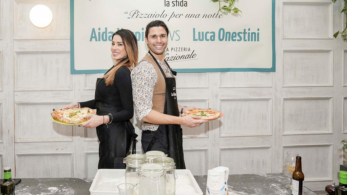 Aida Yespica e Luca Onestini