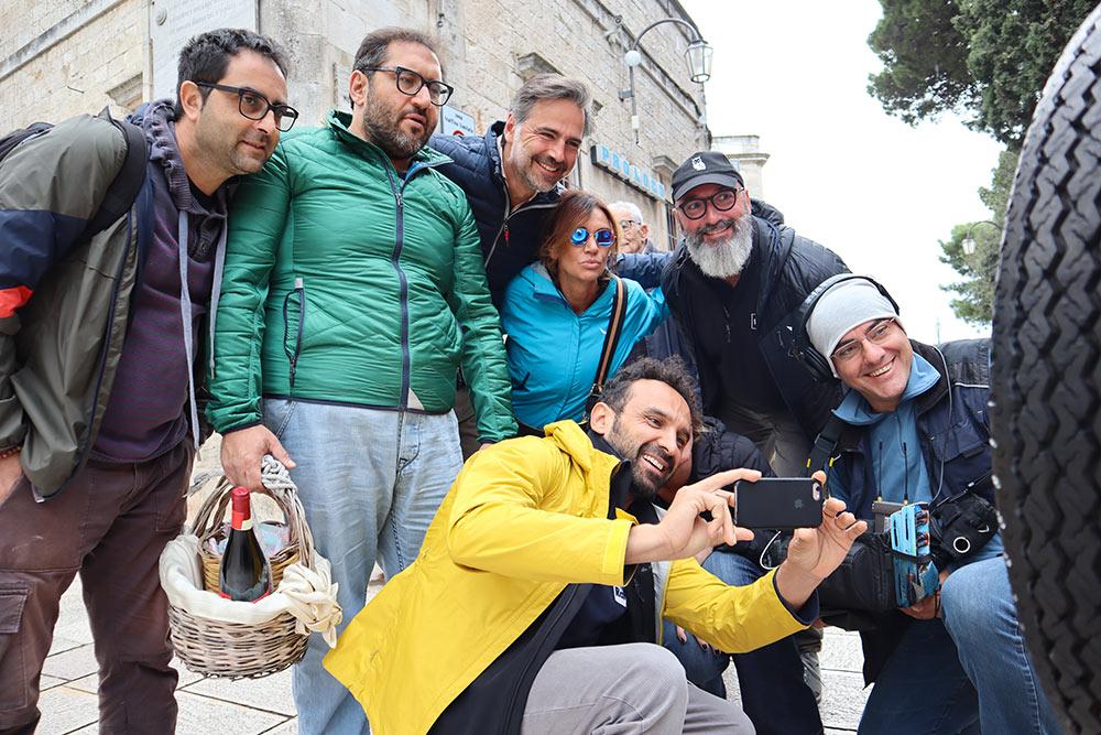 Foto di gruppo dello staff di Linea Verde