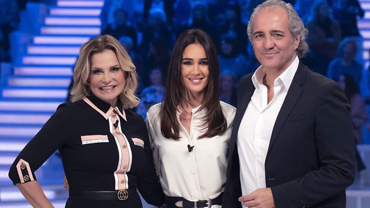 Simona Ventura e Giovanni Terzi