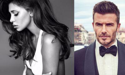 Belen e David Beckham