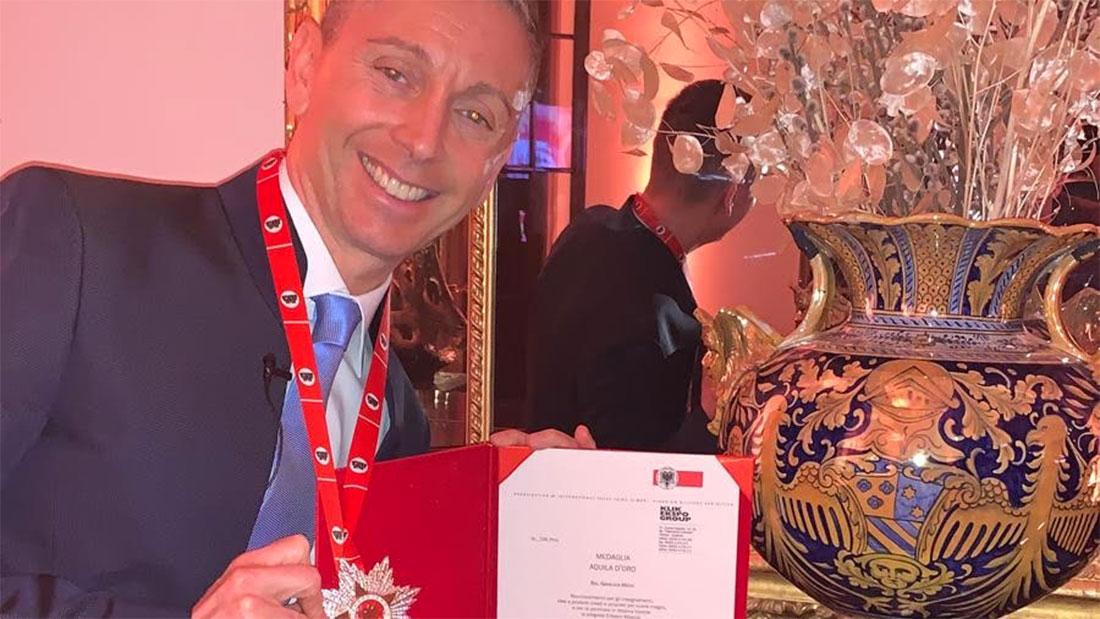 Gianluca Mech premiato in Albania