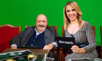 Maurizio Costanzo e Lisa Marzoli