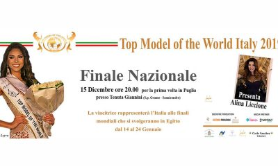 Top Model of the World Italy 2019