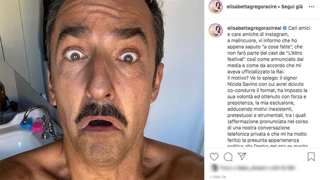 Il post di Elisabetta Gregoraci