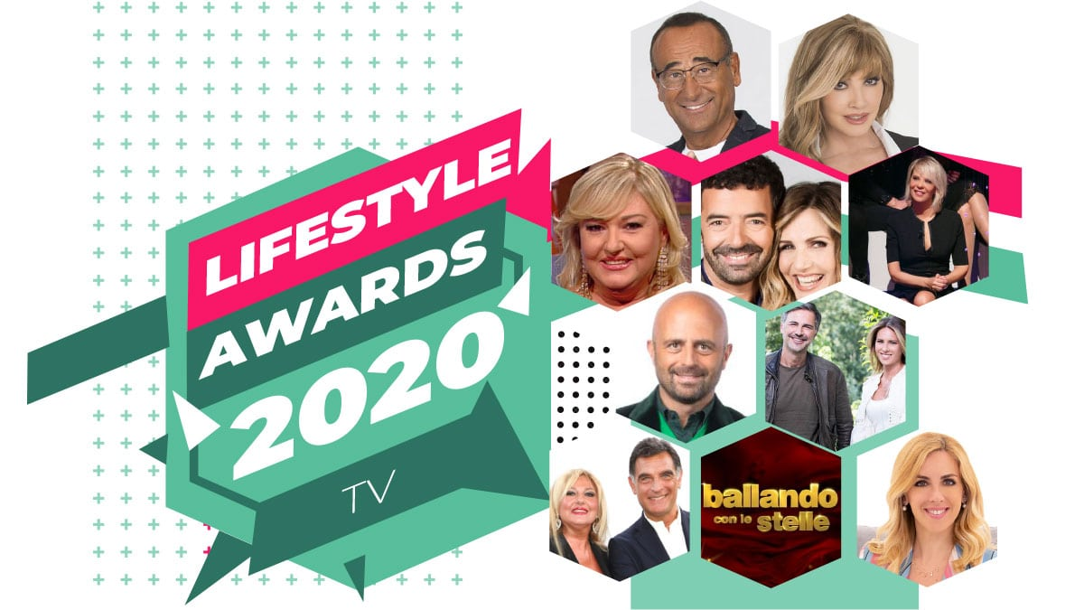 tv awards - Lifestyle Awards 2020 TV: i vincitori