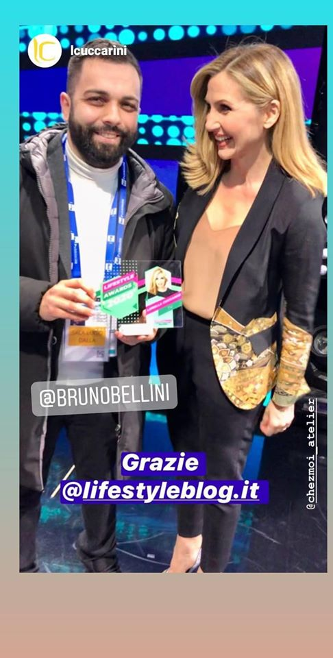 Lifestyle Awards 2020 a Lorella Cuccarini