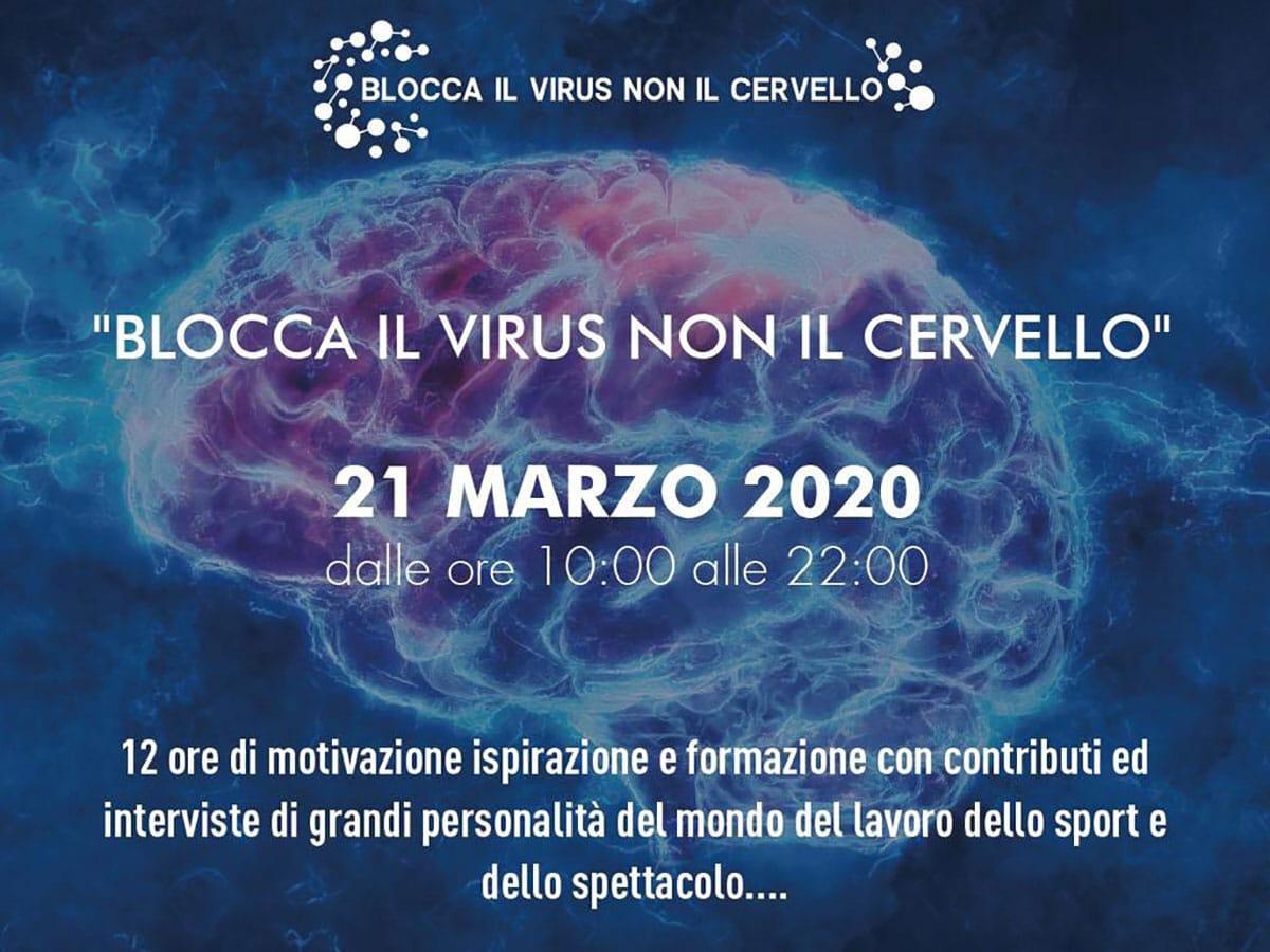Blocca il virus con il cervello