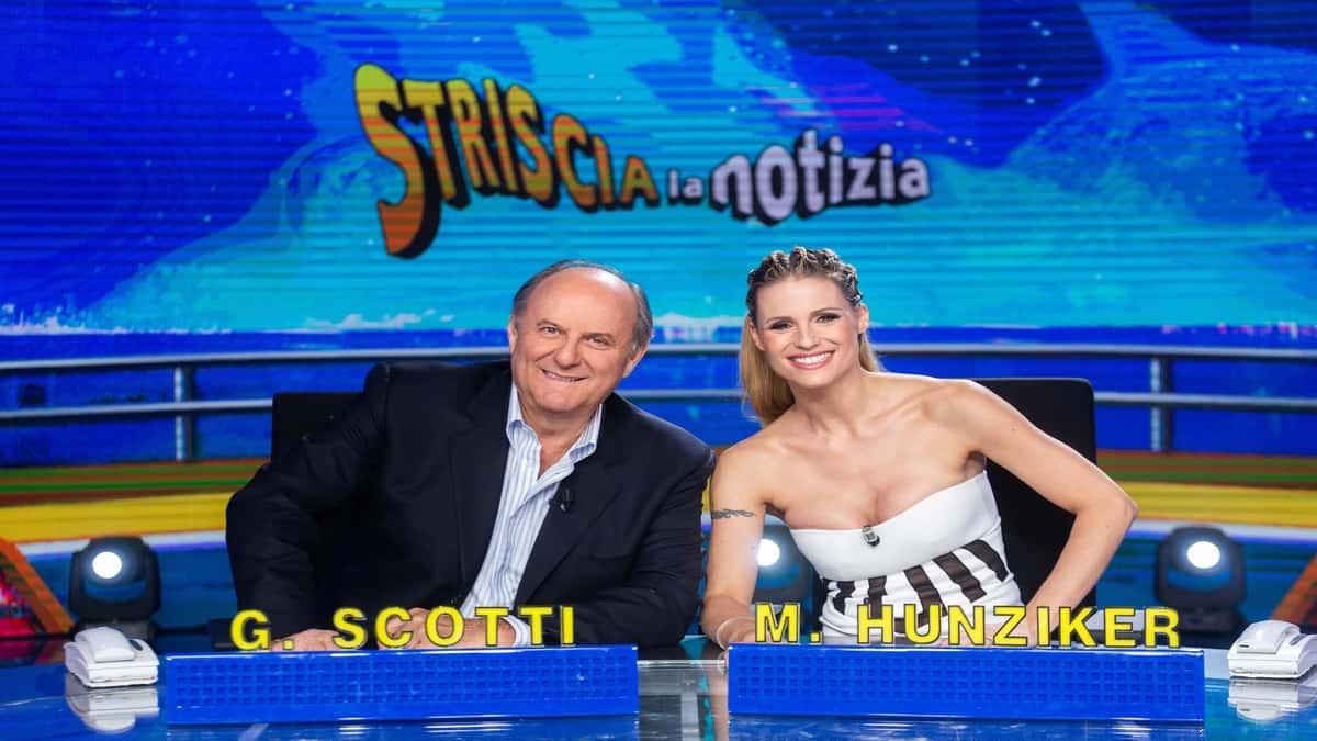 Gerry Scotti e Michelle Hunziker