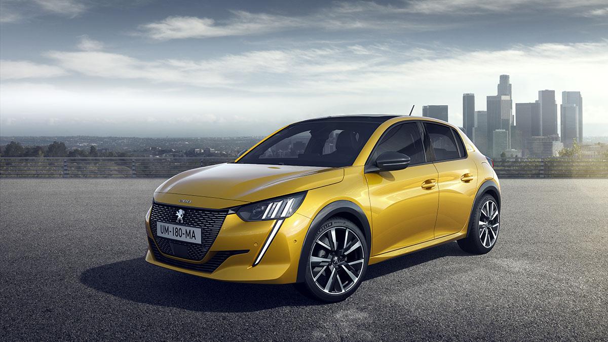 La nuova Peugeot 208